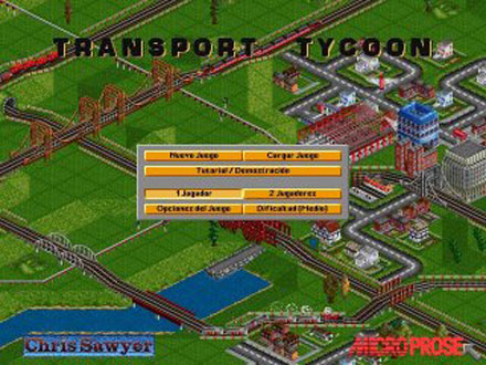 Pantallazo del juego online Transport Tycoon (PC)