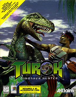 Carátula del juego Turok Dinosaur Hunter (PC)