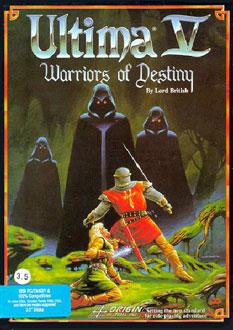 Carátula del juego Ultima V - Warriors of Destiny (PC)