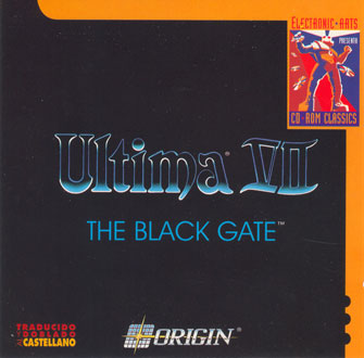 Carátula del juego Ultima VII - The Black Gate (PC)
