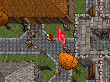 Pantallazo del juego online Ultima VII - The Black Gate (PC)