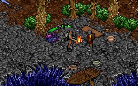 Pantallazo del juego online Ultima VIII Pagan (PC)