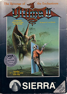 Carátula del juego Ultima II Revenge of the Enchantress (PC)