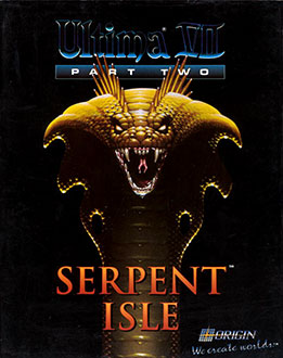 Portada de la descarga de Ultima VII Part Two: Serpent Isle