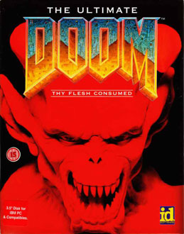 Portada de la descarga de The Ultimate Doom