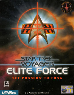 Portada de la descarga de Star Trek: Voyager — Elite Force