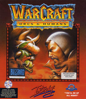 Carátula del juego WarCraft - Orcs & Humans (PC)