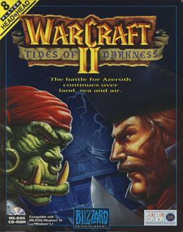 Portada de la descarga de WarCraft II: Tides of Darkness