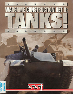 Carátula del juego Wargame Construction Set II Tanks! (PC)