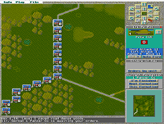Pantallazo del juego online Wargame Construction Set II Tanks! (PC)