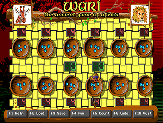 Pantallazo del juego online Wari The Ancient Game of Africa (PC)