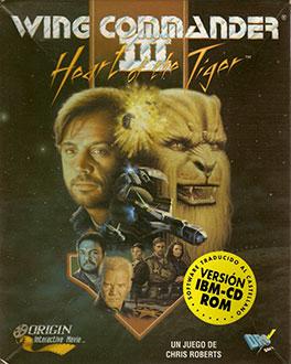Portada de la descarga de Wing Commander III: Heart of the Tiger