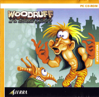 Carátula del juego Woodruff and The Schnibble of Azimuth (PC)