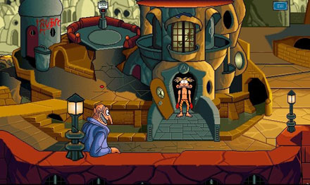 Pantallazo del juego online Woodruff and The Schnibble of Azimuth (PC)