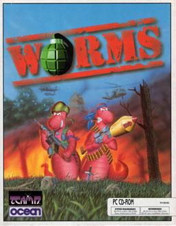 Portada de la descarga de Worms