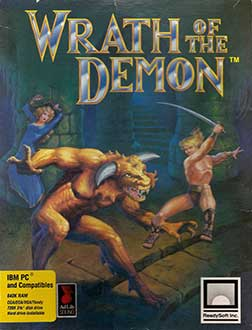 Portada de la descarga de Wrath of the Demon