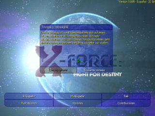 Portada de la descarga de X-Force: Fight For Destiny