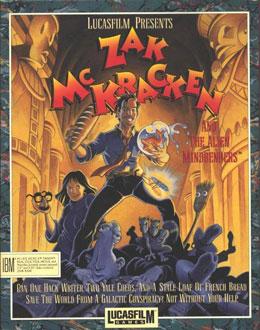 Carátula del juego Zak McKracken and the Alien Mindbenders (PC)