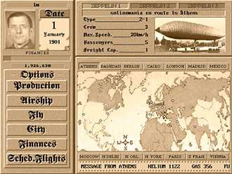 Pantallazo del juego online Zeppelin Giants of the Sky (PC)