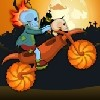 Juego online Zombie Bike Adventure
