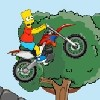 Juego online Bart Bike Adventure