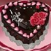 Juego online Valentine Chocolate Cake