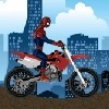 Juego online Spiderman Bike Racer
