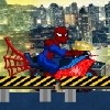 Juego online spiderman bike game