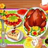 Juego online Turkey Dinner