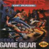 Juego online Streets of Rage (GG)