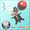 Juego online 60 seconds for archer