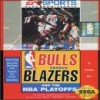 Juego online Bulls vs Blazers and the NBA Playoffs (Genesis)