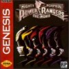 Juego online Mighty Morphin Power Rangers: The Movie (Genesis)