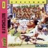 Juego online Match Day II (Spectrum)
