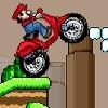 Juego online Mario Bros Motobike 2