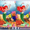 Juego online Ariel's World 10 Differences