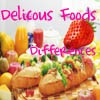 Juego online Delicious Foods Differences