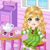 Juego online Doll House Tea Party