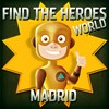 Juego online Find the Heroes World - Madrid