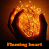 Juego online Flaming heart
