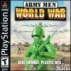 Juego online Army Men: World War (PSX)