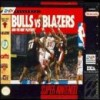 Juego online Bulls vs Blazers and the NBA Playoffs (Snes)