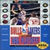 Juego online Bulls vs Lakers and the NBA Playoffs (Genesis)
