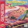 Juego online Desert Demolition Starring Road Runner and Wile E Coyote (Genesis)