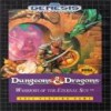 Juego online Dungeons & Dragons - Warriors of the Eternal Sun (Genesis)