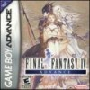 Juego online Final Fantasy IV Advance (GBA)