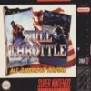Juego online Full Throttle Racing (Snes)