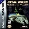 Juego online Star Wars: Flight of the Falcon (GBA)