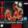 Juego online TKO Super Championship Boxing (Snes)