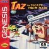 Juego online Taz in Escape from Mars (Genesis)